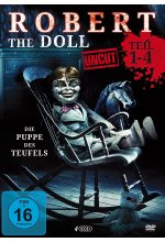Robert the Doll 1-4 Deluxe Box-Edition (uncut)  [4 DVDs] DVD-Cover