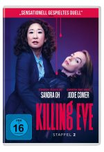 Killing Eve - Staffel 2  [2 DVDs] DVD-Cover