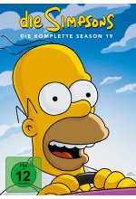Die Simpsons - Season 19  [4 DVDs]<br> DVD-Cover