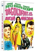 Dr. Goldfoot und seine Bikini-Maschine - Uncut limited Mediabook-Edition (+DVD) plus Booklet/HD neu abgetastet) Blu-ray-Cover
