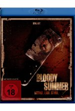 Bloody Summer - Schrei. Lauf. Stirb - Uncut Blu-ray-Cover
