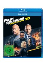 Fast & Furious: Hobbs & Shaw Blu-ray 3D-Cover