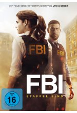 FBI - Staffel 1  [5 DVDs] DVD-Cover