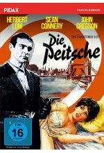 Die Peitsche (The Frightened City) / Spannungsgeladener Soho-Krimi mit Herbert Lom und Sean Connery (Pidax Film-Klassike DVD-Cover