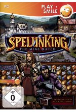 SpelunKing – The Mine Match<br> Cover