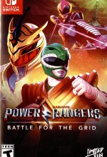 Power Rangers - Battle for the Grid (englisch) Cover