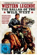 Western Legende - The Ballad of Wild West  [4 DVDs] DVD-Cover
