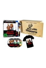 Zwei wilde Companeros - Limitiert auf 333 Stück - Platinum Cult Edition - Uncut & HD Remastered (+ DVD)  (+ T-Shirt) in Blu-ray-Cover