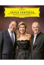 Anne-Sophie Mutter - Triple Concerto - Ludwig van Beethoven - Symphony No. 7 Blu-ray-Cover