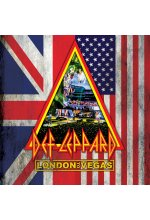 Def Leppard - London to Vegas  (+ CD) Blu-ray-Cover