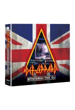 Def Leppard - Hysteria At The O2-Live  (+ 2 CDs) DVD-Cover