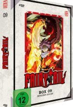 Fairy Tail - TV-Serie - Box 9 (Episoden 204-226)  [4 DVDs] DVD-Cover