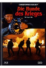 Die Hunde des Krieges - Mediabook - Cover A - Limited Edition (+ DVD) Blu-ray-Cover