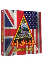 Def Leppard - London to Vegas  (+ 4 CDs) [2 DVDs] DVD-Cover