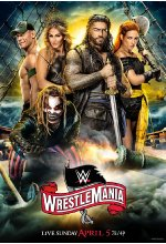 WWE: WrestleMania 36  [2 BRs] Blu-ray-Cover