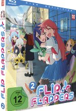 Flip Flappers - Blu-ray Vol. 2 Blu-ray-Cover