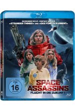 Space Assassins Blu-ray-Cover