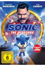 Sonic the Hedgehog DVD-Cover