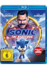 Sonic the Hedgehog Blu-ray-Cover