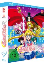 Sailor Moon - Staffel 2 - Blu-ray Box (Episoden 47-89) [6 Blu-rays] Blu-ray-Cover
