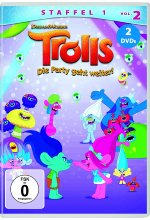 Trolls - Die Party geht weiter! Staffel 1, Vol. 2  [2 DVDs] DVD-Cover