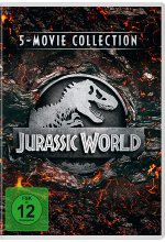 Jurassic World - 5-Movie Collection  [5 DVDs] DVD-Cover