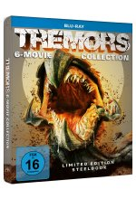 Tremors 6-Movie Collection - Limited Steelbook [6 BRs] Blu-ray-Cover