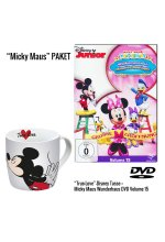 Micky Maus Wunderhaus Volume 15: Willkommen in Minnies Boutique DVD + Micky Maus Tasse DVD-Cover