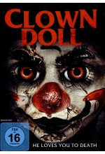 Clown Doll - He loves you to Death DVD-Cover