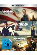 Olympus Has Fallen - Die Welt in Gefahr/London Has Fallen/Angel Has Fallen - Triple Film Collection  (3 4K Ultra HD) Cover