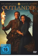 Outlander - Die komplette fünfte Season  [4 DVDS] DVD-Cover