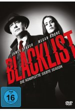 Blacklist - Die komplette siebte Season  [5 DVDs] DVD-Cover