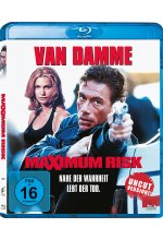Maximum Risk - Uncut Version Blu-ray-Cover