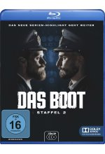 Das Boot - Staffel 2  [3 BRs] Blu-ray-Cover
