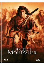 Der letzte Mohikaner - Mediabook - Cover A - 4-Disc Limited Ultimate Edition  (+ DVD) Blu-ray-Cover