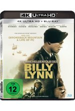 Die irre Heldentour des Billy Lynn  (4K Ultra HD) (+ Blu-ray 2D) Cover