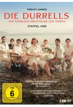 Die Durrells - Staffel Vier  [2 DVDs] DVD-Cover