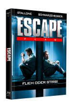 Escape Plan - Mediabook - Cover A (+ DVD) Blu-ray-Cover