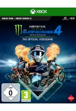 Monster Energy Supercross 4 - The Official Videogame Cover