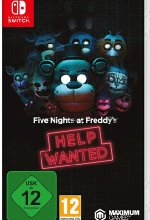 Five Nights at Freddys - Help Wanted Cover