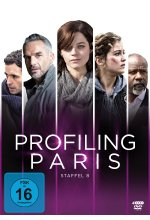 Profiling Paris - Staffel 8  [4 DVDs] DVD-Cover