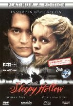 Sleepy Hollow  [PE] [2 DVDs] DVD-Cover
