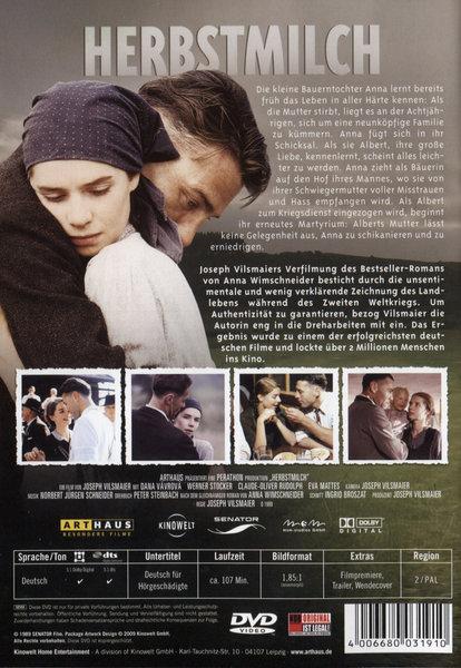 Herbstmilch Film Auf Dvd Ausleihen Bei Verleihshop De