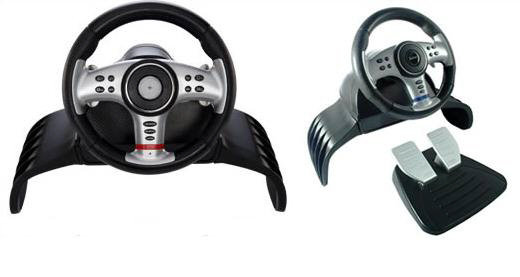 ps3 lenkrad pedale 4 in 1 vibration wheel ps3 xbox. Black Bedroom Furniture Sets. Home Design Ideas