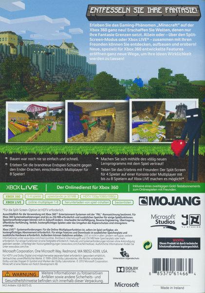 Minecraft Xbox Edition Spiel Für Xbox Ausleihen Bei - Minecraft konsole und pc zusammen spielen