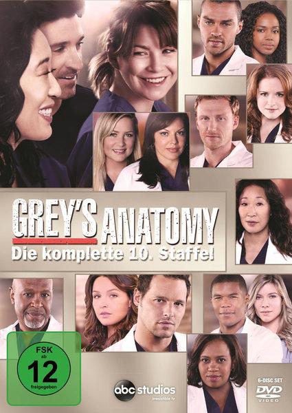 Greys Anatomy Staffel   Dvds Serie Auf Dvd Ausleihen Bei Verleihshop De