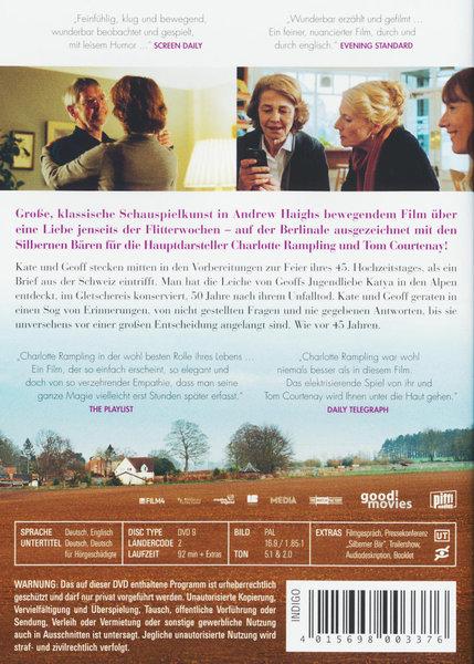 45 Years Film Auf Dvd Ausleihen Bei Verleihshopde