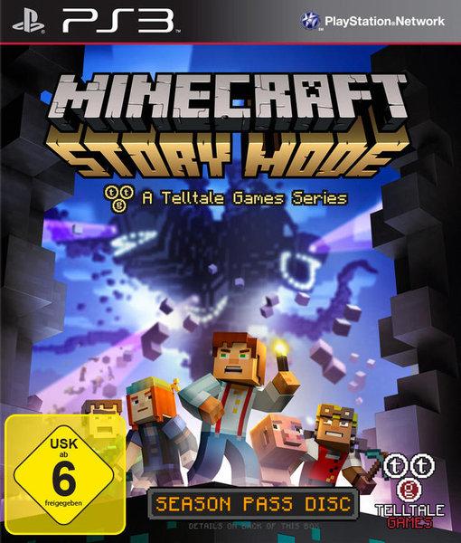 Minecraft Story Mode Spiel Für Playstation Ausleihen Bei - Minecraft spiele fur playstation 3