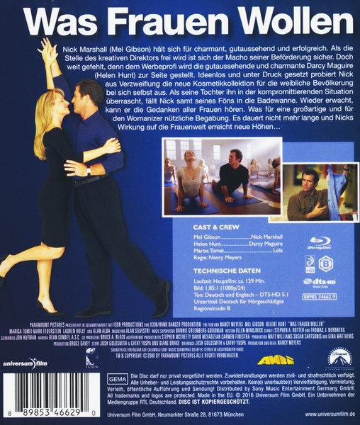 was frauen wollen film auf blu ray disc ausleihen bei. Black Bedroom Furniture Sets. Home Design Ideas