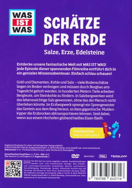 Was Ist Was Schatze Der Erde Film Auf Dvd Ausleihen Bei Verleihshop De